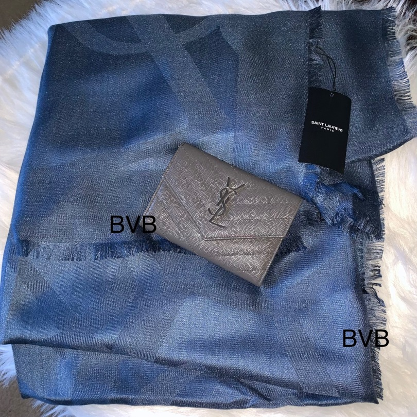 YSL Passport Wallet and Shawl