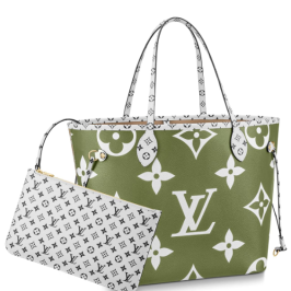 Louis Vuitton Neverfull MM in Khaki